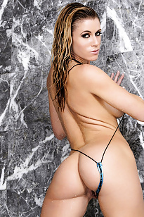 Randy Moore Strips in Thong Bikini from Twisty's