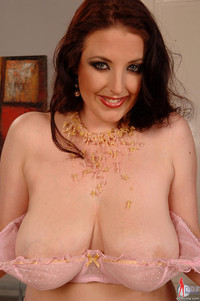Angela White Busty Redhead