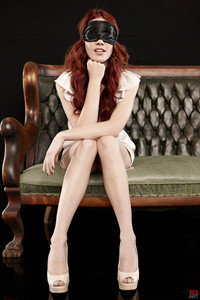Elle Alexandra Blindfolded Redhead