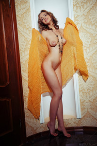 Rachel Blau Orange Wrap